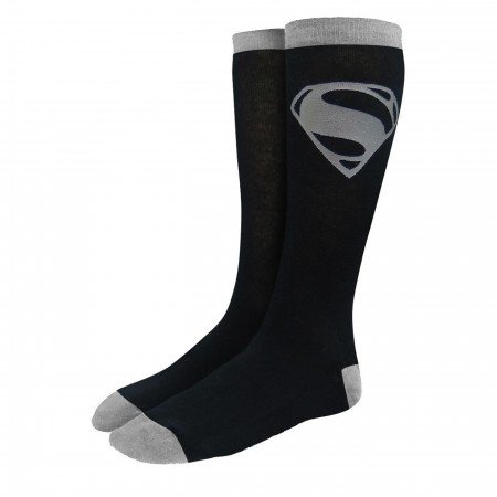 Superman Justice League Movie Symbol Crew Socks