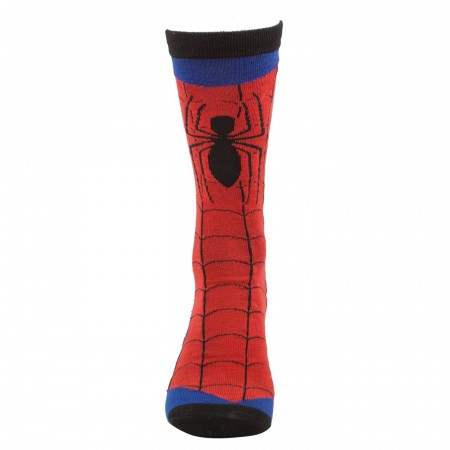 Spider-Man & Venom Crew Sock 2 Pack
