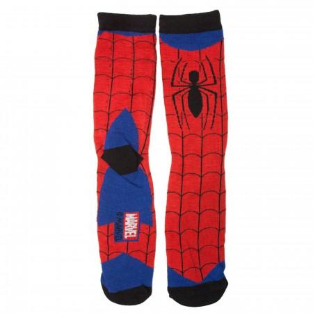 Spider-Man Webbed Costume Crew Socks