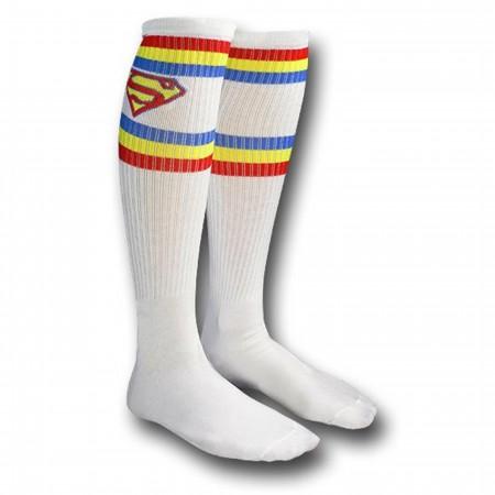 Superman Athletic Knee-High Socks