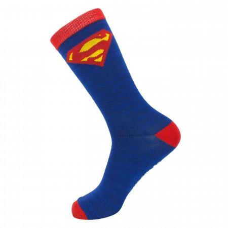 Superman Costume Crew Socks