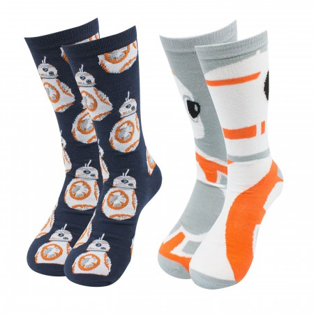 Star Wars BB-8 Crew Socks 2-Pack
