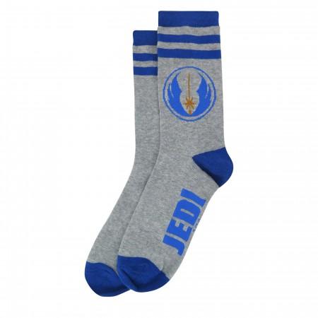 Star Wars Jedi Symbol Athletic Crew Socks