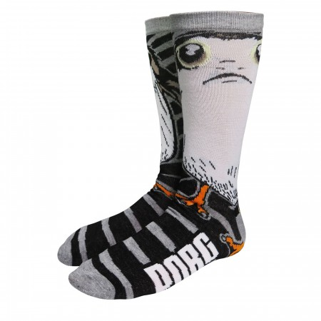 Star Wars Sad Porg Crew Socks