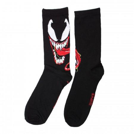 Venom Symbiote Crew Socks 2-Pack