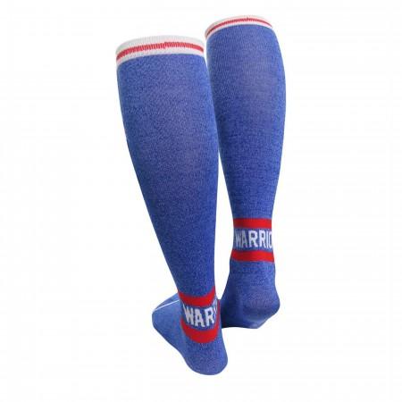 Wonder Woman Warrior Knee High Women's Socks