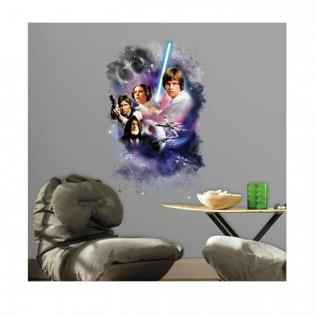 Star Wars Classic Poster Mega Wall Decal