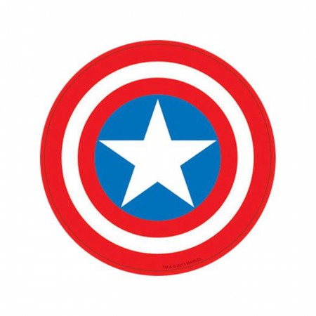Captain America Shield Symbol Sticker