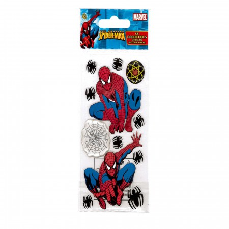 Spider-Man Image and Webs Sticker Pack