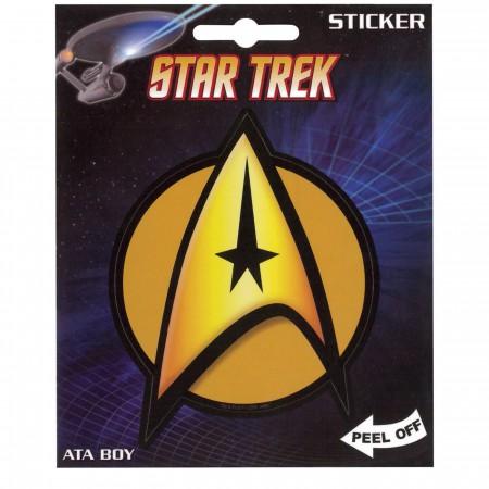 Star Trek Command Sticker