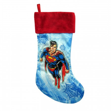 Superman Flying Christmas Stocking