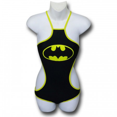 Batman High-Neck Halter Monokini