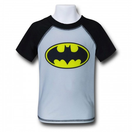 Batman Symbol Kids Rash Guard