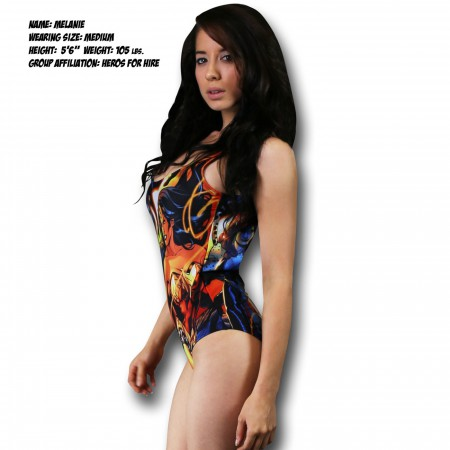 Wonder Woman All-Over Print One-Piece Swimsuit
