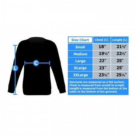 Punisher Symbol Jacquard Men's Sweater