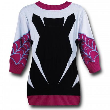 Spider Gwen 3/4 Sleeve Women's Cardigan