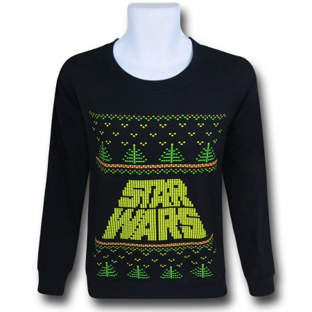 "Star Wars Logo ""Christmas Sweater"" Sweatshirt"