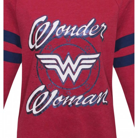 Wonder Woman Athletic Women's Sweater with Beanie