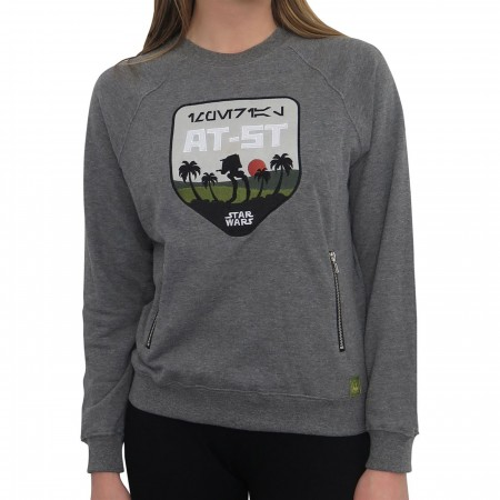 Star Wars Imperial AT-ST Patch Women's Sweatshirt