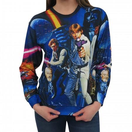 Star Wars Poster Blast Women's Sweatshirt