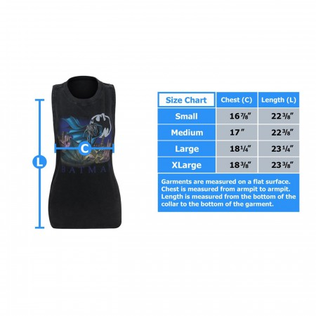 Batman Lunar Night Women's Tank Top