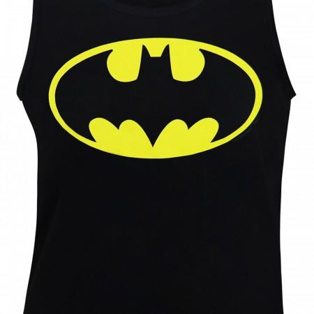 Batman Symbol Black Men's Tank Top