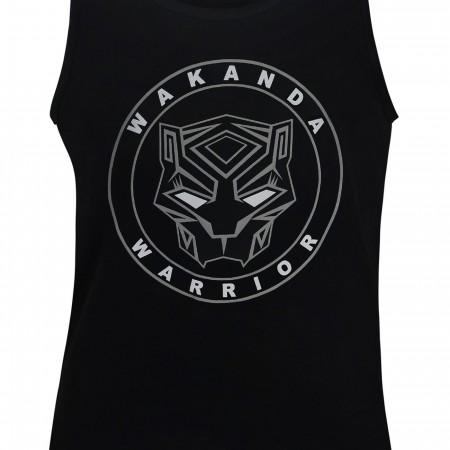 Black Panther Movie Wakanda Warrior Men's Tank Top