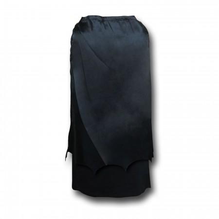Batman Symbol Women's Tank Dress with Removable Cape