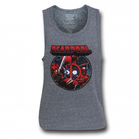Deadpool Image Circle Tank Top