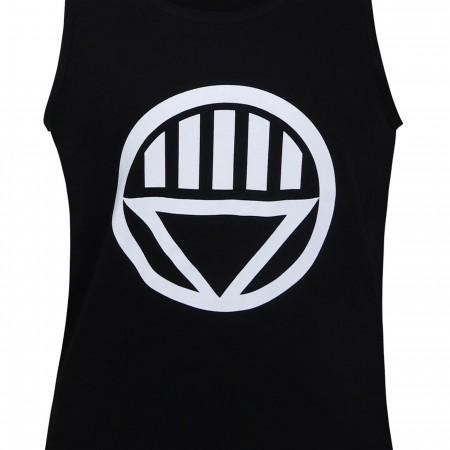 Green Lantern Black Lantern Symbol Tank Top