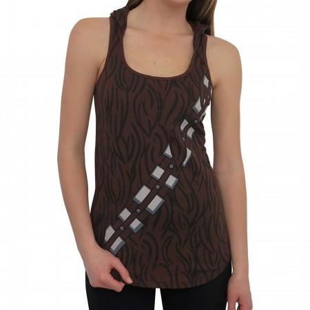 Star Wars Chewbacca Women's Hooded Tank Top