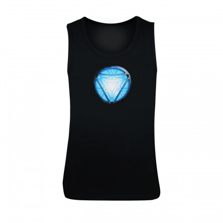 Iron Man Blue Arc Tank Top