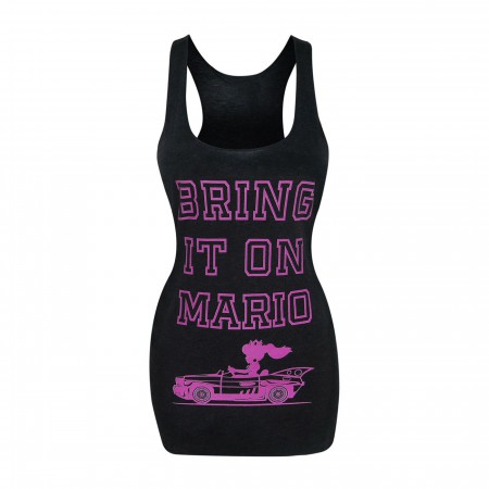 Super Mario Bring It On Women's Racerback Tank Top