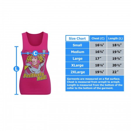Supergirl Positively Rad Women's Tank Top