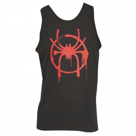 Spider-Man Into The Spider-Verse Logo Men's Tank Top