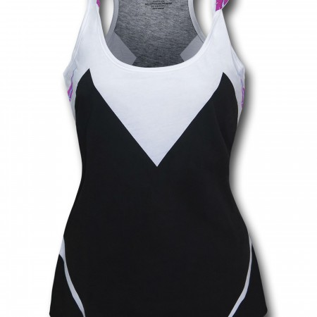 Spider Gwen Hooded Costume Tank Top