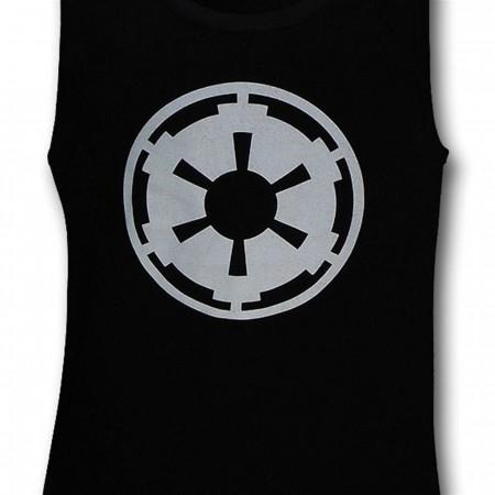 Star Wars Empire Logo Black Tank Top