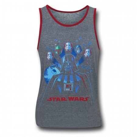 Star Wars Vader Force Kids Tank Top