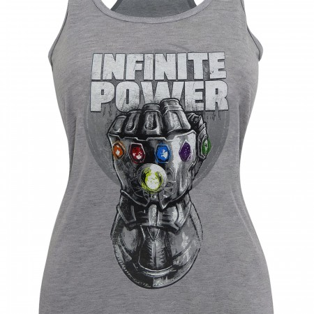 Infinity War Thanos Infinite Power Women's Tank Top