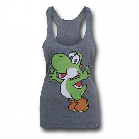 Super Mario Yoshi Women's Tank Top