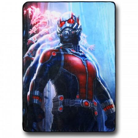 Ant-Man Movie Pose Fleece Throw Blanket
