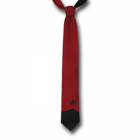 Star Trek Red Tie