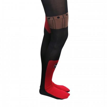 Deadpool Costume Women's Tights