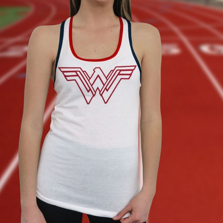 Wonder Woman Warrior Victory Women's Tank Top