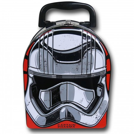 Star Wars Force Awakens Phasma Mask Lunchbox
