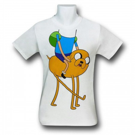 Adventure Time Finn On Jake T-Shirt