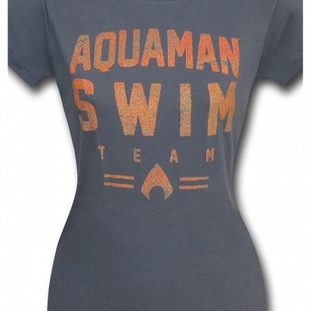 Aquaman Swim Team Women's T-Shirt