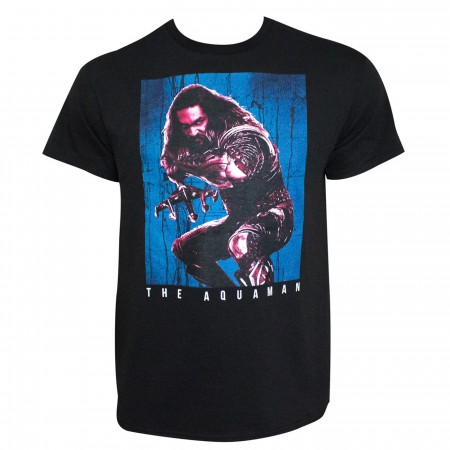 Aquaman Justice League Movie Back Off Men's T-Shirt