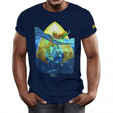Aquaman Sea King Men's T-Shirt
