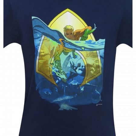 Aquaman Sea King Men's T-Shirt